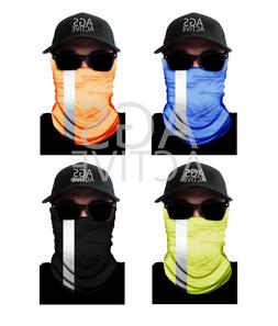 1 REFLECTIVE FACE MASK Sun Shield Neck Gaiter Headband Banda