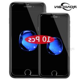 10 <font><b>Pack</b></font> tempered glass for iPhone 7 8 6