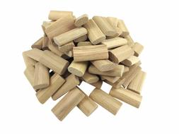 100 Pack 10mm x 24mm x 50mm Beechwood Loose Tenons for use w