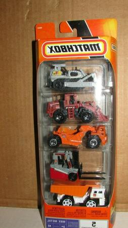 14303  MATCHBOX 2007  5 PACK  READY FOR ACTION MBX METAL   N