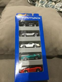 Hot Wheels 1996 **Camaro** 5-Pack Gift, W/Exclusive Metalfla