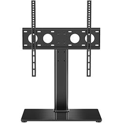 1homefurnit Universal Table Top Pedestal TV Stand with Brack