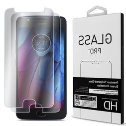2 Pack of CoverON for Motorola Moto G5S Plus Tempered Glass