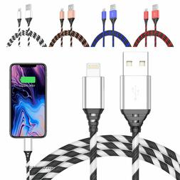 2-Pack 10FT Long Cable Heavy Duty Charger Charging Cord for