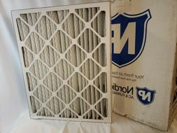 2 Pack AC Furnace Air Filters Honeywell  Nordic Pure 20x25x5
