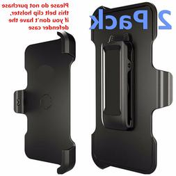2 Pack Belt Clip Holster Replacement For iPhone 5 6 7 8 Defe