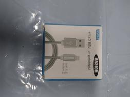 2 Pack Lighting USB Charging Cable For OEM Apple iPhone X 8