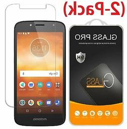 2-Pack Tempered Glass Screen Protector For Motorola Moto E5