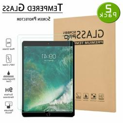 2 Pack TEMPERED GLASS Screen Protector for iPad 9.7 Pro 5th