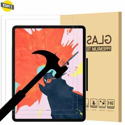2 Pack Tempered Glass Screen Protector For iPad Pro 12.9 / 1