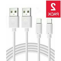 2-PACK USB Charger Cable Cord For iPhone XR X Xs MAX 11 8 7