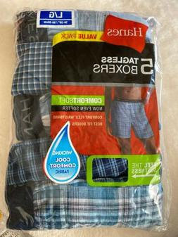 2 Packs Of Men's Large Boxers. 5-Pack 10 Total!!!