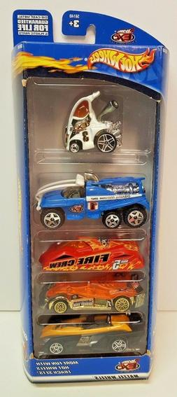 Hot Wheels 2000 5-Pack Extreme City NEW Die-Cast