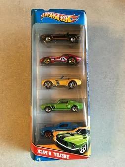 2010 Hot Wheels Shelby 5-pack 1:64 Scale Die Cast Cars