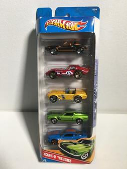 2011 Hot Wheels Shelby Five Pack 1:64 Scale 5 Car Die Cast M