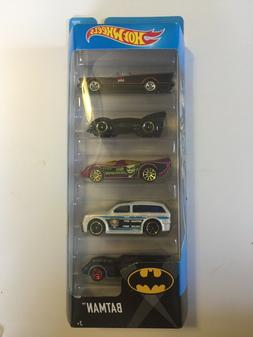 2016 HOT WHEELS BATMAN 5 PACK SET BATMOBILE JOKER GOTHAM POL