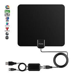 2018 NEWEST 80 Miles Long Range TV Antenna, EAVUTY Indoor Di