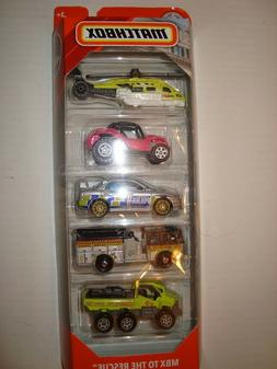 Matchbox 2019 MBX To The Rescue 5-Pack w/Subaru & Peirce #2