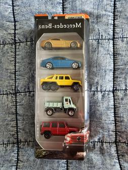 2019 Matchbox Mercedes Benz 5-Pack