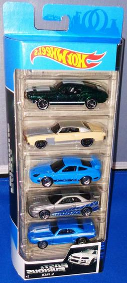 2020 Hot Wheels Fast Furious 5 Pack ~ Mustang,Monte Carlo,Po