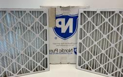 Nordic Pure 20x25x5  MERV 12 Pleated AC Furnace Air Filters