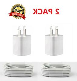 2pack usb home ac wall charger