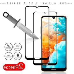 2pcs/<font><b>pack</b></font> for huawei y7 2019 tempered gl