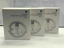 3-Pack Apple Lightning Cable to USB Charger for iPhone 5 6 7