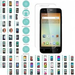 5 Pack Real Premium Tempered Glass Screen Protector Film for