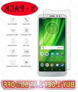 3 Pack Tempered Glass Screen Protector For Motorola MOTO E5