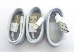3-PACK USB Data Charging Charger Cables Cords compliant I Ph
