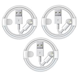 3-Pack USB OEM Charger Lightning Cables For Apple iPhone 5 6
