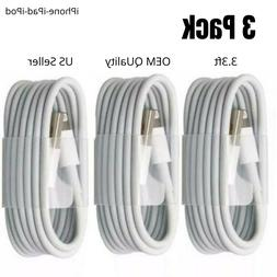 33-PACK 3.3FT USB Data Charger Cables Cords For Apple iPhone