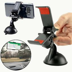 360° Rotating Car Windshield Mount Holder Stand Bracket Cra