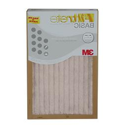 374444Filtrete  3M  Air Furnace Filter White Pleated 3 pk OR