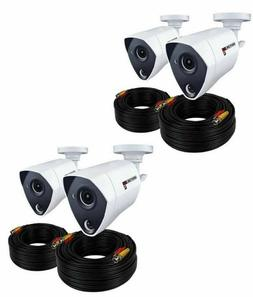 4 Pack Night Owl 5MP Night Vision Security Cameras CM-PTHD50