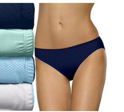 Fruit of the Loom 4 pack Breathable Micro Mesh Bikinis