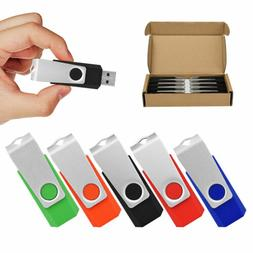 Kootion 5 Color 5/10 Pack 1GB 2GB 4GB 8G 16G 32G 64G USB 2.0