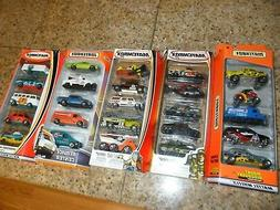 5 LOT MATCHBOX 5 CAR PACK SET MOUNT DISCOVERY DESERT WEEKEND