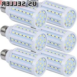 5-Pack 75W Eq. LED Bulb 60-Chip Corn Light E26 1100lm 10W Co