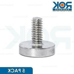 5 PACK 8/32 Round Strong Neodymium Rare Earth Magnet Machine