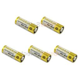 5 PACK Battery A23 23A 21/23 MN21 23AE Car Remote FOB Contro