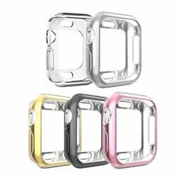5 Pack Bumper Gel Cover Rugged Protective Shell Metallic Cas