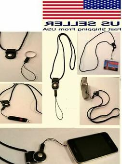 5 Pack Detachable Ring Neck Strap Lanyard Cell Phone ID Card