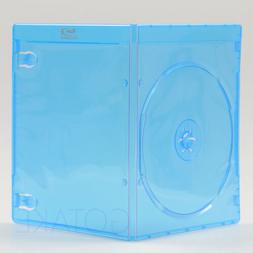 5 PACK Empty Blu-ray Logo Case 7mm Single CD DVD Disc Cover