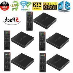 5 Pack HD 1080P T59N TV Box Android 5.1 Quad Core 1+8GB WIFI