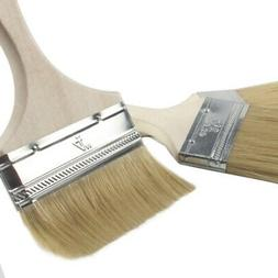 5 Pack House Wall,Trim Paint Brush Set for Home Exterior or