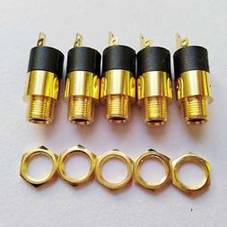 5 pack hq gold plated 3 5mm