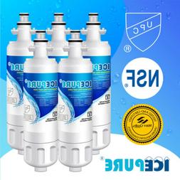 5PACK Water Filter Compatible With LG LT700P ADQ36006101 KEN