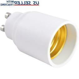 Light Bulb Socket Adapter GU10 GU-10 to Standard US E26 Med